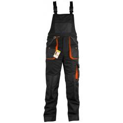 Spodnie ogrodniczki ROCKER BLACK