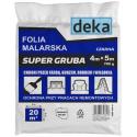 Folia malarska SUPER GRUBA
