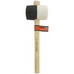Młotek gumowy z drewnianym trzonkiem