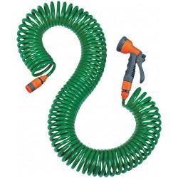 Wąż spiralny - zestaw do zraszania GARDEN