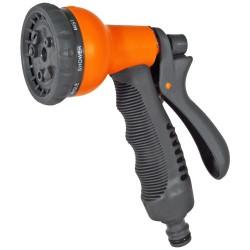 Zraszacz pistoletowy 8-funkcyjny SOFT PREMIUM